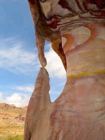 Swirling Rocks of Petra Jordan