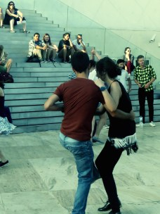 Dancing in the streets of Porto, Portugal - July 2015 - by Anika Mikkelson - Miss Maps