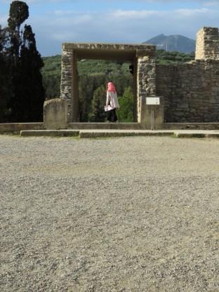 Minoan Palace of Knossos, Heraklion Greece - April 2015