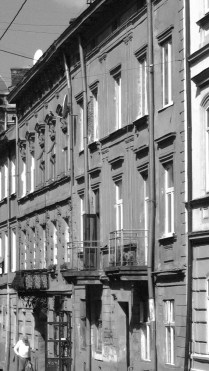 Lviv Black and White by Anika Mikkelson - www.MissMaps.com
