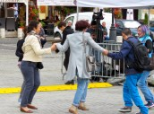 Dancing in the Streets - Sibiu Romania - by Anika Mikkelson MissMaps.com
