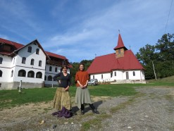 Traditional Dress at the Monastery : Sweaters, Long Skirts and Pants - By Anika Mikkelson www.MissMaps.com