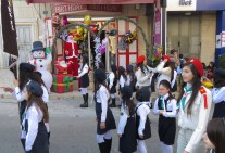 Happy Birthday and Merry Christmas from the Scouts and Stores in Palestine - by Anika Mikkelson - Miss Maps- www.MissMaps.com