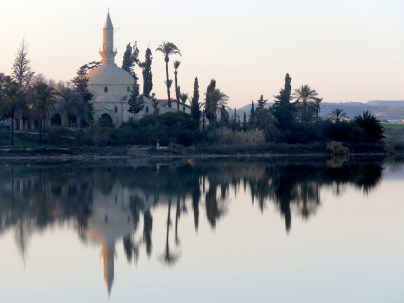 Reflected Mosque of Larnaca Cyprus