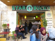 Proof that there is a God - Starbucks exists in Bethlehem - Just don't look at the fine details - by Anika Mikkelson - Miss Maps - www.MissMaps.com