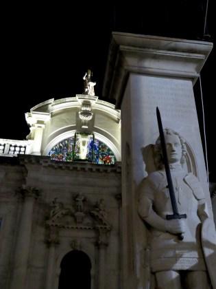 Church of Saint Blasius at Night - Dubrovnik, Croatia - by Anika Mikkelson - Miss Maps - www.MissMaps.com
