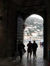 Entering Old Town Dubrovnik Croatia - by Anika Mikkelson - Miss Maps - www.MissMaps.com