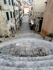 Game of Thrones Fans will recognize this as the start of the walk of shame Old Town Dubrovnik Croatia - by Anika Mikkelson - Miss Maps - www.MissMaps.com