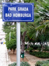 Park Bad Homburga - Dubrovnik, Croatia - by Anika Mikkelson - Miss Maps - www.MissMaps.com