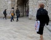 Women Walking in Old Town Dubrovnik Croatia - by Anika Mikkelson - Miss Maps - www.MissMaps.com
