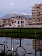 A rainy day's reflection - Berat Albania - by Anika Mikkelson - Miss Maps - www.MissMaps.com