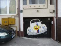 Slug Bug at Hostel Lucky - Saravejo, Bosnia and Herzegovina BiH - by Anika Mikkelson - Miss Maps - www.MissMaps.com