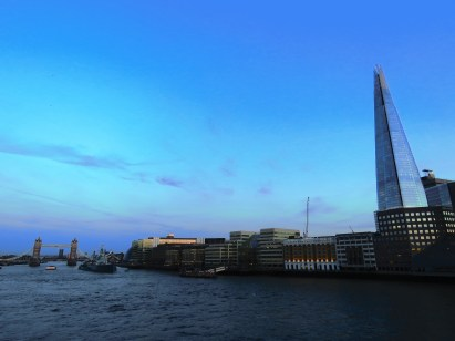 The River Thames at Dusk - London, England, United Kingdom - by Anika Mikkelson - Miss Maps