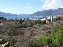 View of the bay from Anton Hostel - Tivat Montenegro - by Anika Mikkelson - Miss Maps - www.MissMaps.com