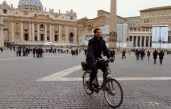 A bicycle ride through Rome Italy - by Anika Mikkelson - Miss Maps - www.MissMaps.com