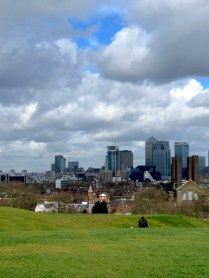 Greenwich Park's View Over London - by Anika Mikkelson - Miss Maps