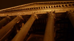 Outside the Pantheon at Night - Rome Italy - by Anika Mikkelson - Miss Maps - www.MissMaps.com