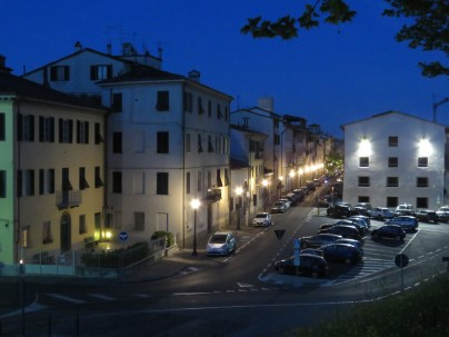 Streetlights - Lucca Italy - by Anika Mikkelson - Miss Maps - www.MissMaps.com
