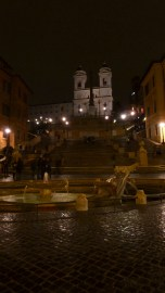 The Spanish Steps of Rome Italy - by Anika Mikkelson - Miss Maps - www.MissMaps.com