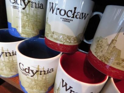 Wroclaw and Gdynia Starbucks - by Anika Mikkelson - Miss Maps - www.MissMaps.com