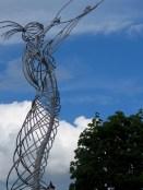Beacon of Hope Statue - Belfast, North Ireland- by Anika Mikkelson - Miss Maps - www.MissMaps.com