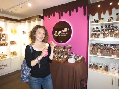 Blarney Chocolate Factory Ireland - by Anika Mikkelson - Miss Maps - www.MissMaps.com