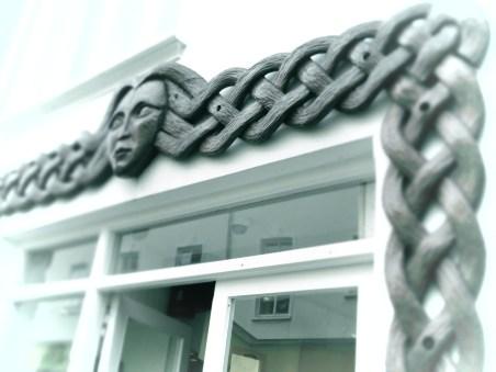 Braided Shop Doors - Dingle Ireland - by Anika Mikkelson - Miss Maps - www.MissMaps.com