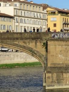 Bridge Bonding - Florence Italy - by Anika Mikkelson - Miss Maps - www.MissMaps.com