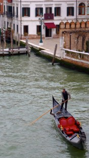 Captain of his own ship - Venice Italy - by Anika Mikkelson - Miss Maps - www.MissMaps.com