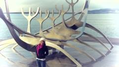Posing - Reykjavik Iceland - by Anika Mikkelson - Miss Maps - www.MissMaps.com