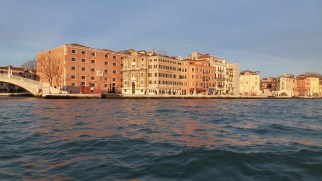Venice at Dusk from the Water - Venice Italy - by Anika Mikkelson - Miss Maps - www.MissMaps.com