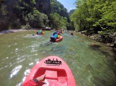 Like Little Fishies Canyoning on Rakitnica River - Bosnia and Herzegovina BiH - photo by VisitKonjic.com