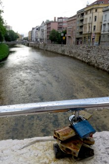 Love Locks - Sarajevo - Bosnia and Herzegovina - by Anika Mikkelson - Miss Maps - www.MissMaps.com