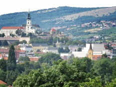 Nitra's Old Town from Above - Nitra Slovakia - by Anika Mikkelson - Miss Maps - www.MissMaps.com