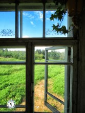 A view of the valley out the kitchen window - South Estonia - by Anika Mikkelson - Miss Maps - www.MissMaps.com