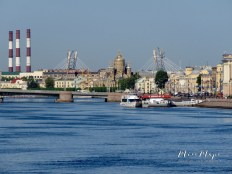Bridges Galore - St Petersburg Russia - by Anika Mikkelson - Miss Maps - www.MissMaps.com