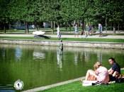 City Park's Statue Exhibit - Tallinn Estonia - by Anika Mikkelson - Miss Maps - www.MissMaps.com