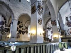 Decorations in the Dome Church - Tallinn Estonia - by Anika Mikkelson - Miss Maps - www.MissMaps.com
