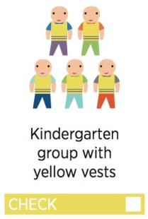 Helsinki Scavenger Hunt - Kindergarten Group with Yellow Vests - from VisitHelsinki.fl