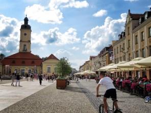 The Main Pedestrian area - Bialystok Poland - by Anika Mikkelson - Miss Maps - www.MissMaps.com