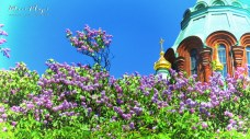 Uspenski Cathedral Close-Up - Helsinki Finland - by Anika Mikkelson - Miss Maps - www.MissMaps.com copy