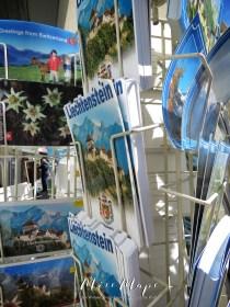 Switzerland Postcards in Liechtenstein - The Road to Liechtenstein - by Anika Mikkelson - Miss Maps - www.MissMaps.com