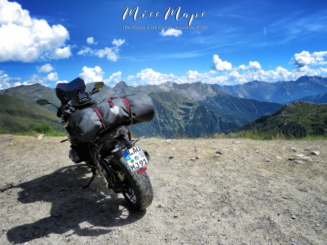 For all you bike lovers - you know who you are - The Road to Liechtenstein - by Anika Mikkelson - Miss Maps - www.MissMaps.com