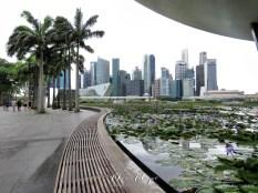Singapore's Downtown Skyline - by Anika Mikkelson - Miss Maps - www.MissMaps.com