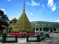 Buildings Surrounding Shwemawdaw Pagoda - Pagu Bago Myanmar - by Anika Mikkelson - Miss Maps - www.MissMaps.com copy