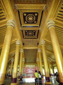 Inside of Bago Palace - Bago Pagu Myanmar - by Anika Mikkelson - Miss Maps - www.MissMaps.com