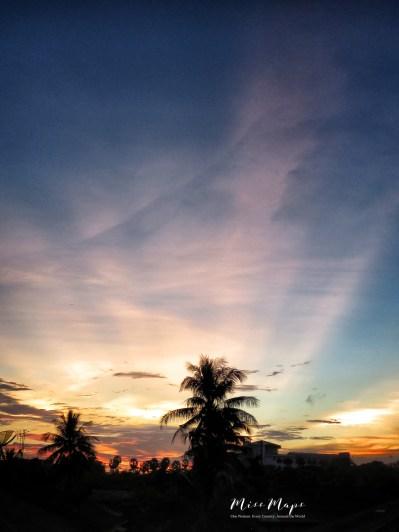 Sky Scapes - Yangon Myanmar - by Anika Mikkelson - Miss Maps - www.MissMaps.com