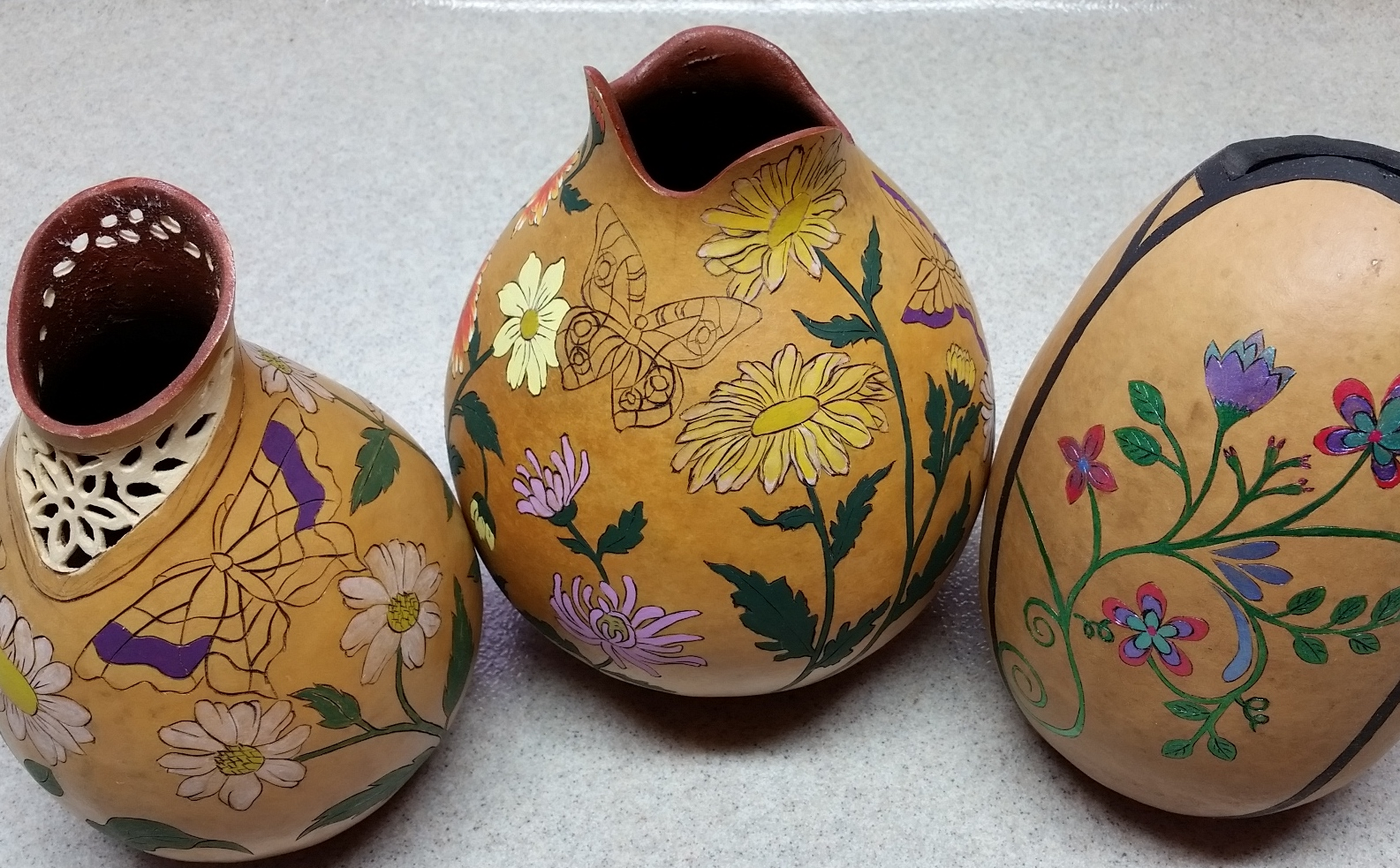 beautiful gourd art