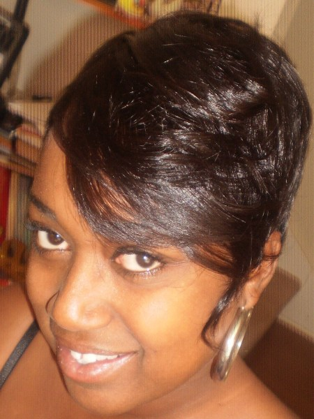 Short Sew In Weave Hairstyles Pictures : short, weave, hairstyles, pictures, Photo, Short, Hairstyles, Christopher, Lawson, Journal