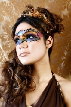 Masquerade Ball Hairstyles : masquerade, hairstyles, Masquerade, Hairstyles, Beautiful